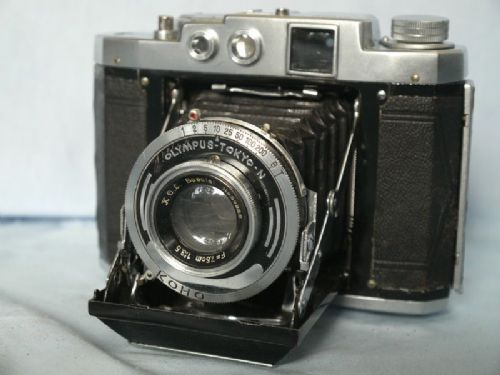 '    Mamiya 6 Version II-Olympus TOKYO-N- ' Mamiya 6 Version II Vintage Folding 6X6 Rangefinder Camera c/w KOL Lens -RARE VERSION- £129.99
